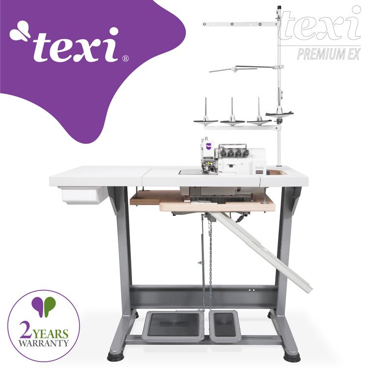 TEXI - Culture of Sewing - Industrielles Nähen - Overlock-Maschinen