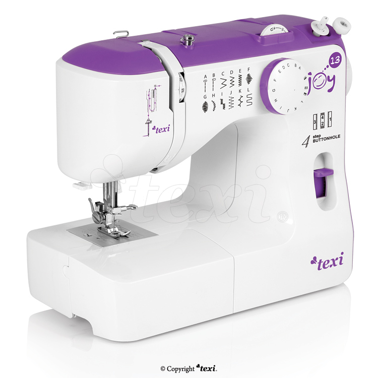 Multifunctional mechanical sewing machine, 13 stitches with extras
