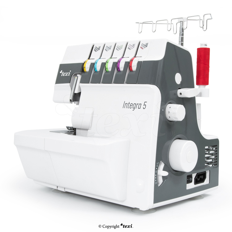2, 3, 4, 5-thread coverlock and overlok 2in1 machine for all kind of fabrics